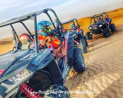 Buggy Adventures Dubai with the Famous Desert Safari